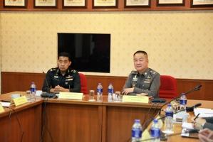 ประชุมคณะประสานงานข่าวกรองสำนักนโยบายและแผนกลาโหม